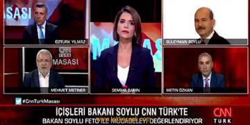 Süleyman Soylu'dan, AKP'li Mehmet Metiner'e Şok