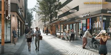 Halk Karar Verdi; Yeni Fethiye Caddesi Böyle Olacak