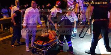 Kocaeli'de Korkunç Kaza; Yaralılar Var