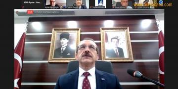 Kocaeli Valisi Seddar Yavuz, KSO Meclisi'nde Konuştu
