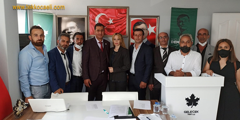 Gelecek Partisi Derince'ye 'Yıldız' Başkan