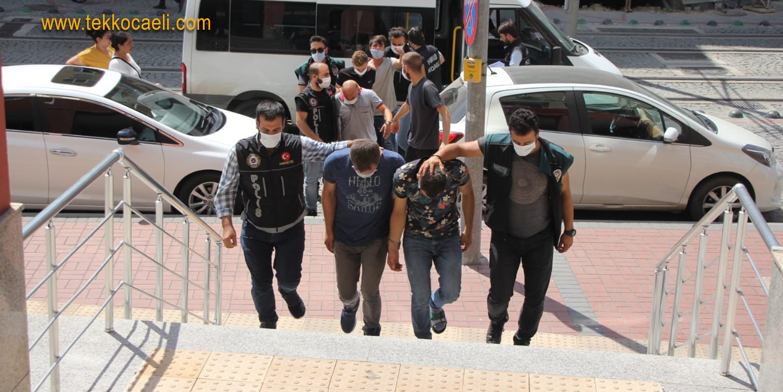 Uyuşturucu Tacirlerine Darbe; Gözaltılar Var