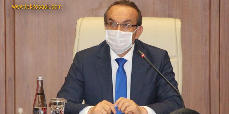 Kocaeli Valisi Seddar Yavuz'dan Flaş Açıklama
