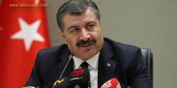 Sağlık Bakanı Koca Açıkladı; 1.226 Yeni Hasta Var