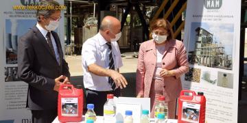 Gazi Şehir'in Başkanı Fatma Şahin TÜBİTAK'ta