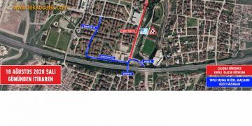 DİKKAT! Derince'de Geçici Trafik Düzenlemesi