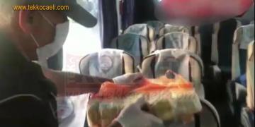 Otobüsten 30 Kilo 800 Gram Eroin Çıktı