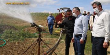 Başkanlardan Kandıralı Çiftçilere Sürpriz Ziyaret