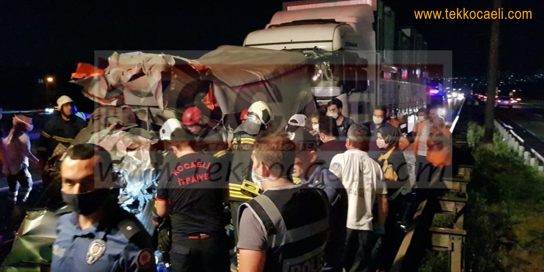 Kartepe'de Feci Kaza; Ölü ve Yaralılar Var