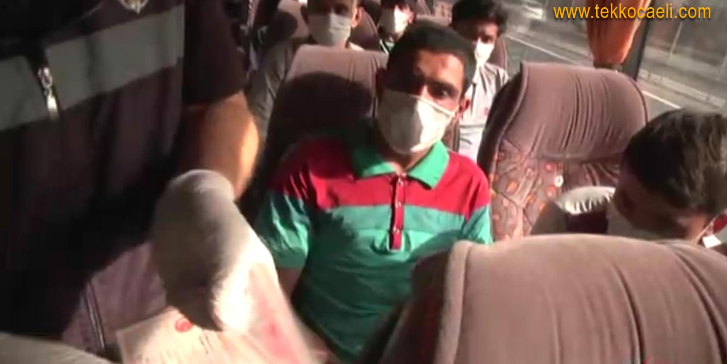 Yolcu Otobüsünden Kaçak Göçmenler Çıktı