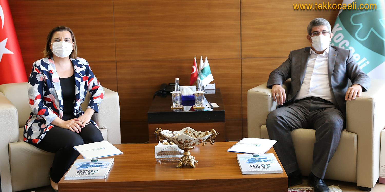 Başkan Hürriyet'ten KOTO'ya Ziyaret