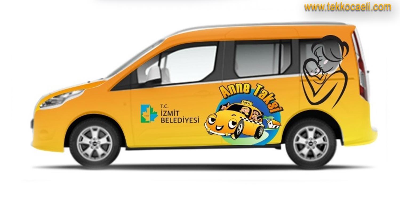 İzmit'e 'Anne Taksi' Geliyor