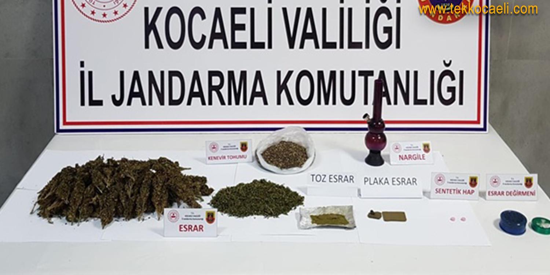 Derince'de Uyuşturucu Operasyonu; 1 Gözaltı