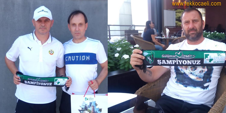 Kocaelispor'un Efsane Oyuncuları Gülümsedi