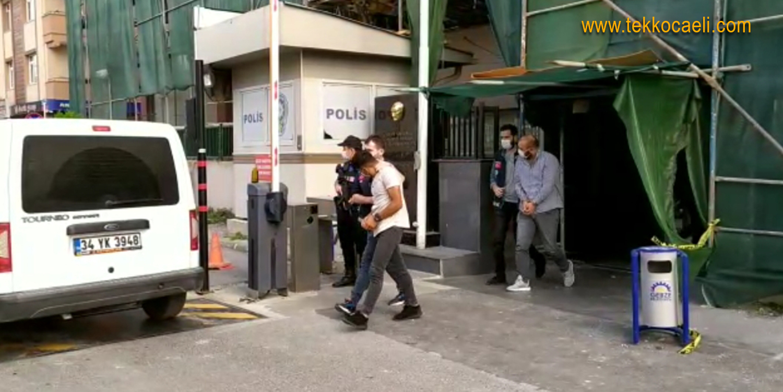Stepne Hırsızları Tutuklandı