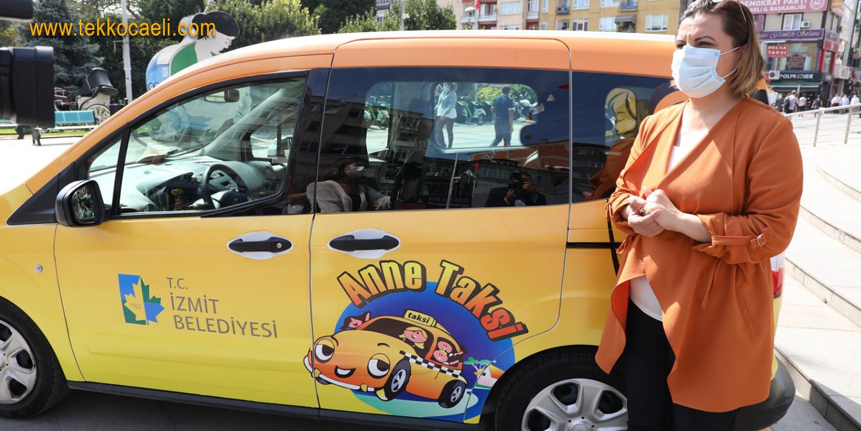 İzmit Belediyesi 'Anne Taksi' Uygulamasını Başlattı