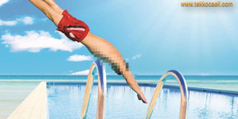 Havuza Atlarken Başını Çarptı; Kurtarılamadı