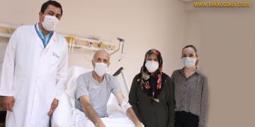 Veysel Amca, Hayata Konak Hastanesi ile Tutundu