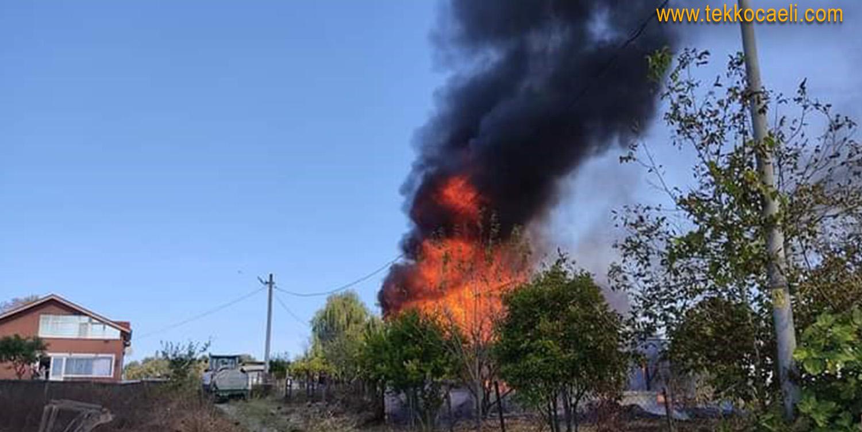 Kandıra'da Villada Yangın