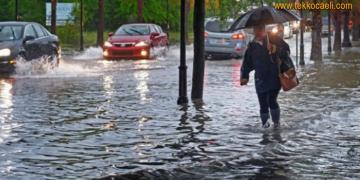 Kocaeli Dikkat! Şiddetli Yağış Uyarısı