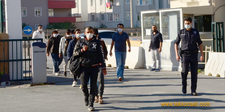 Afganistan Uyruklu Kaçak Göçmenler Yakalandı