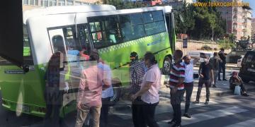 Halk Otobüsü Kaza Yaptı; Yaralı Yolcular Var