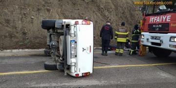 Başiskele'de Kaza; 3 Yaralı