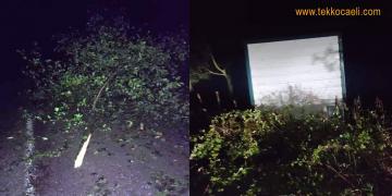Fırtına Kandıra'nın Döngelli Köyünü Vurdu