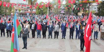 Gölcük'ten Azerbaycan'a Büyük Destek