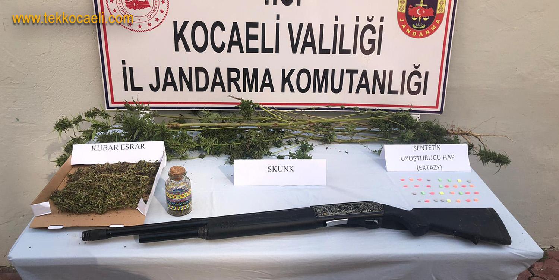 Gölcük Siretiye'de Uyuşturucu Operasyonu
