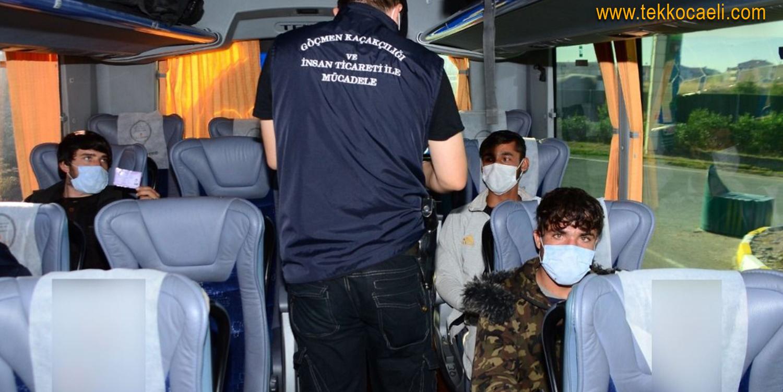 Pakistan Uyruklu Kaçak Göçmenler Yakalandı