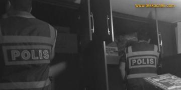 Kocaeli Polisinden Şok Baskınlar; 27 Gözaltı