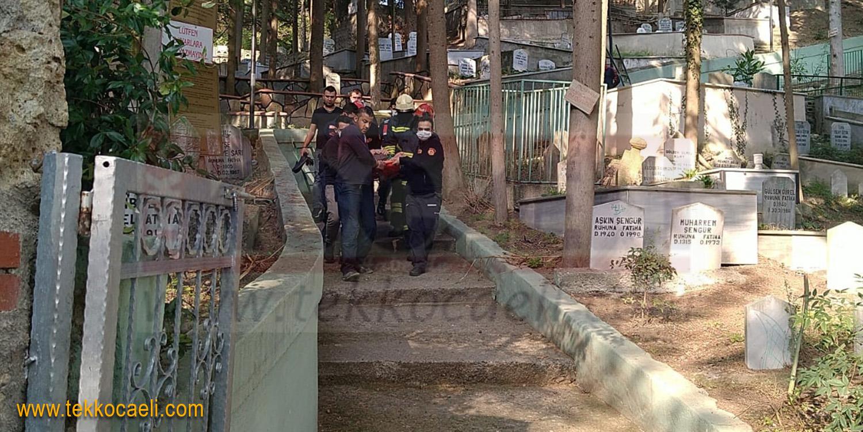Sultan Baba Türbesinde Talihsiz Kaza