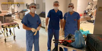 Yaralı Askerin Ameliyatına İtfaiye Ekipleri de Girdi