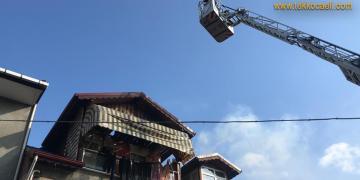 İzmit Tepeköy'de Yangın
