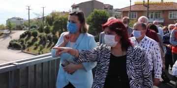 Başkan Fatma Kaplan Hürriyet Şirintepe'de