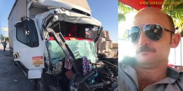 SUMOTAŞ İşçisi Korkunç Kazada Can Verdi