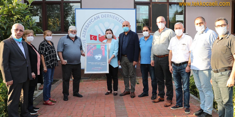 Başkan Hürriyet'ten Azerbaycan'a Destek