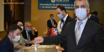 Deva Partisi Dilovası'nda Ali Çelik Seçilmiş Başkan