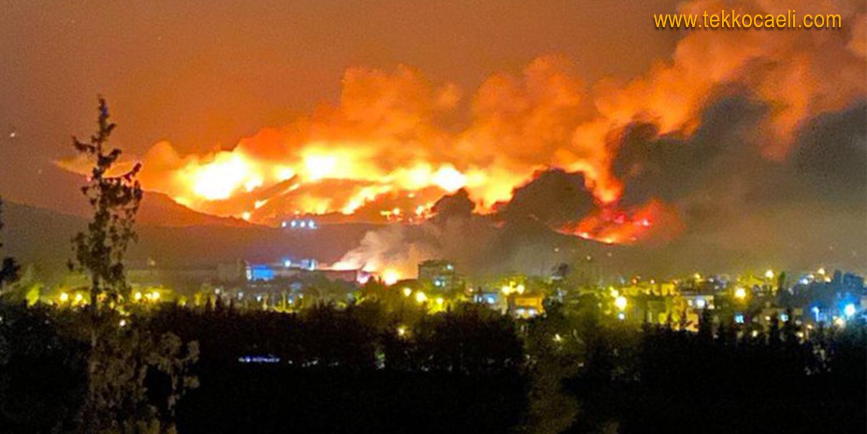 Korkunç Yangın Sonrası Başkan Hürriyet'ten Tepki