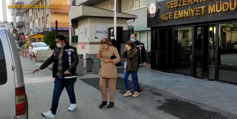 Gebze'de Eve Giren Kadın Hırsız Tutuklandı
