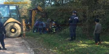 Kandıra'da Traktör Takla Attı; Yaralı Var