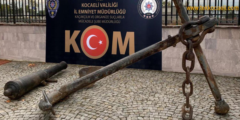 Kocaeli Polisinden Hurdacıya Tarihi Eser Baskını
