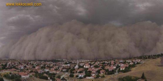 Uyarı Geldi; Marmara'ya Toz Fırtınası Geliyor