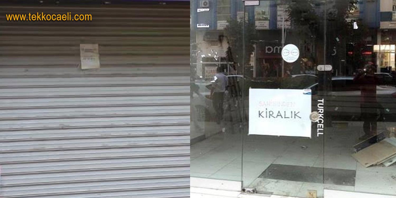 Esnaf Perişan; Dükkanlar Kapanmaya Devam ediyor
