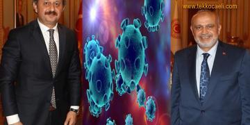 Şevki Yılmaz ve Vekil Oğlu Koronavirüs'e Yakalandı