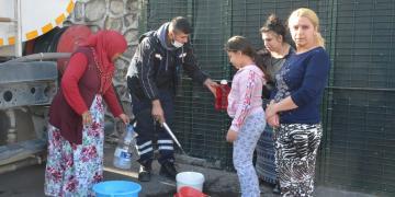 Su Kesintisi Olan Mahallelere İzmit Belediyesi'nden Destek