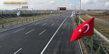 Kuzey Marmara Otoyolu 6. Kesim Açılışı Yapıldı