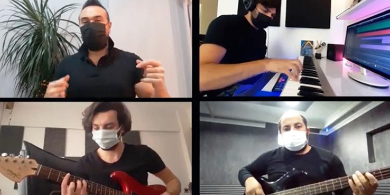 Kocaelili Müzisyenlerden 'Korona' Şarkısı