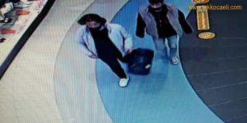 AVM'deki Mağazada Hırsızlık